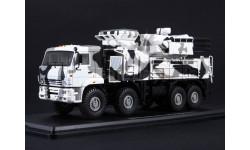 КАМАЗ-6560 ЗРПК 96К6 (Панцирь-С1) камуфляж Арктика