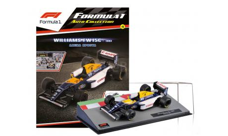 Formula 1 Auto Collection №4 - Williams FW15C Ален Прост (1993), журнальная серия масштабных моделей, Centauria, scale43
