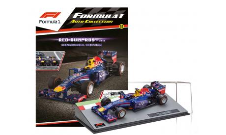 Formula 1 Auto Collection №8 - Red Bull RB 9 Себастьян Феттель (2013), журнальная серия масштабных моделей, Centauria, scale43