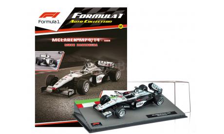 Formula 1 Auto Collection №12 - McLaren MP4/14 - Мика Хаккинен (1999), журнальная серия масштабных моделей, Centauria, scale43