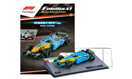 Formula 1 Auto Collection №17 - Renault R24 - Ярно Трулли (2004), журнальная серия масштабных моделей, Centauria, scale43