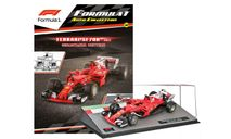 Formula 1 Auto Collection №32 - Ferrari SF70H - Себастиан Феттель (2017), журнальная серия масштабных моделей, Centauria, scale43