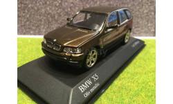 1:43 BMW x5 e53 Minichamps раритет