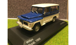 1:43 Willys rural 1968 WhiteBox