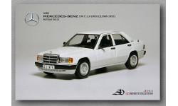 mercedes 190e, масштабная модель, Mercedes-Benz, Autoart, 1:43, 1/43
