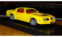 понтиак транс ам, масштабная модель, Pontiac, ERTL (Auto World), 1:43, 1/43