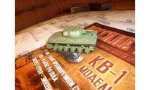 №4 КВ-1, журнальная серия Русские танки (GeFabbri) 1:72, scale72