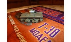 №98 Т-38, журнальная серия Русские танки (GeFabbri) 1:72, scale72