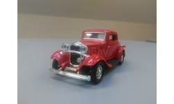 2245. Ford 3-window coupe 1932. #94231 Road signature., масштабная модель, scale43