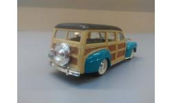 2241. Ford Woody Wagon 1948. 1/43. #94251 Road signature., масштабная модель, scale43
