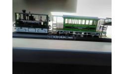 Модель парового трамвая. 1/87(h0)