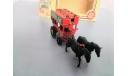 2268. Модель Нью-Йоркского конного омнибуса. Lledo. Англия., масштабная модель, scale50