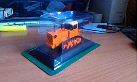 Трактор ДТ  - 75 К, масштабная модель, 1:43, 1/43, КамАЗ
