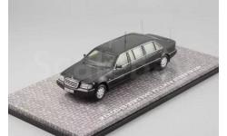 Акция!Dip models Mercedes-Benz S500 Pullman Guard (W140) (Президент Б. Ельцин