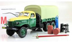 Дип Dip Зис-151 техпомощь,зелёный, масштабная модель, DiP Models, 1:43, 1/43