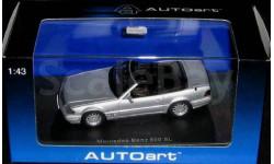 мерседес 600sl, масштабная модель, 1:43, 1/43, Autoart, Mercedes-Benz
