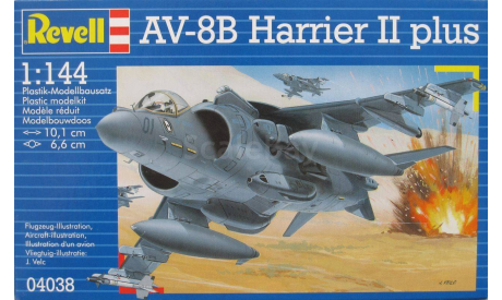Харриер II, сборные модели авиации, 1:144, 1/144, Revell