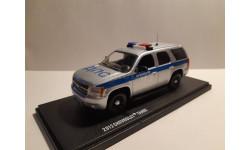 Chevrolet Tahoe 2012 Полиция ДПС Москва, масштабная модель, scale43
