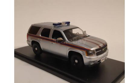 Chevrolet Tahoe МЧС России Санкт-Петербург, масштабная модель, scale43