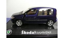 Skoda Roomster, масштабная модель, 1:43, 1/43, Abrex