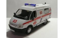 ГАЗ 32214 Скорая медицинская помощь, масштабная модель, 1:43, 1/43, Конверсии мастеров-одиночек