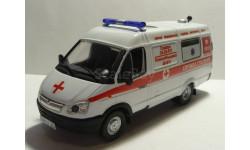 ГАЗ 32214 Скорая помощь Служба спасения Самара, масштабная модель, 1:43, 1/43, Конверсии мастеров-одиночек
