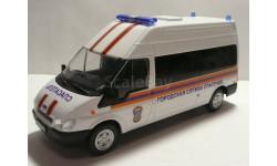 Форд Транзит МЧС России Городская служба спасения, масштабная модель, scale43, Конверсии мастеров-одиночек, Ford