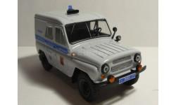 УАЗ 469 Милиция Москва, масштабная модель, 1:43, 1/43, Конверсии мастеров-одиночек
