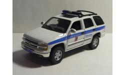 Chevrolet Tahoe 2000  Милиция, масштабная модель, 1:43, 1/43