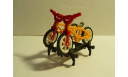 Велосипеды на крышу.1-43, элементы для диорам, scale43