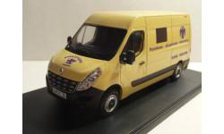 Renault Master Служба инкассации ' Росинкас', масштабная модель, scale43, Конверсии мастеров-одиночек