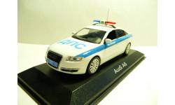 Audi A6 Полиция ДПС, масштабная модель, 1:43, 1/43