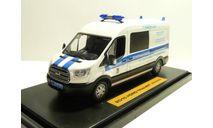 Ford Transit Полиция С.Петербург, масштабная модель, scale43