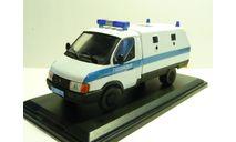 ГАЗ 3302 Ратник Полиция Н.Новгород, масштабная модель, 1:43, 1/43