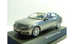 Mercedes-Benz E W212 Palladium silver Schuco