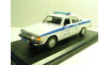 ГАЗ 3102 Полиция Москва, масштабная модель, Москвич, 1:43, 1/43