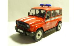 УАЗ 3159 Барс Служба пожаротушения, масштабная модель, scale43