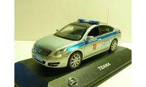 Nissan Teana Полиция УВД по ЦАО Москва, масштабная модель, scale43