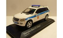 Mercedes-Benz GL Милиция Москва, масштабная модель, Minichamps, scale43