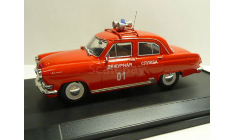 Волга ГАЗ 21Р Пожарная охрана, масштабная модель, scale43