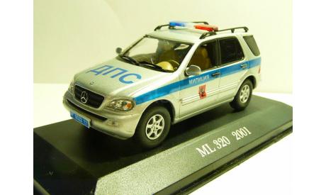 Mercedes-Benz ML320 Милиция ДПС Москва, масштабная модель, 1:43, 1/43