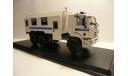 КАМАЗ 43118 полиция ОМОН Севастополь Россия, масштабная модель, scale43
