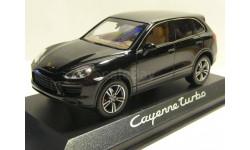 Porsche Cayenne Turbo Minichamps (black), масштабная модель, 1:43, 1/43
