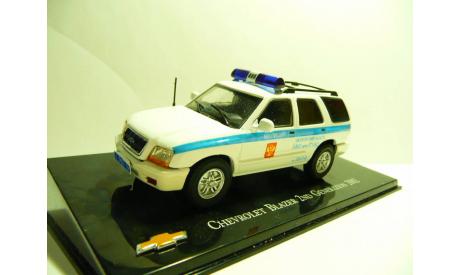 Chevrolet Blazer Милиция УВО МО, масштабная модель, scale43
