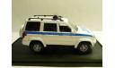 УАЗ 3163 Патриот Полиция ДПС рестайлинг, масштабная модель, 1:43, 1/43