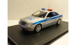 Mercedes-Benz E W211 Полиция ДПС ЦСН БДД МВД России, масштабная модель, scale43
