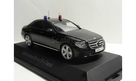 Mercedes-Benz E-klasse Avantgarde 2017 W213 ФСО РФ, масштабная модель, 1:43, 1/43