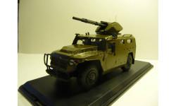 ГАЗ-233014 «Тигр-М» с пушечным модулем