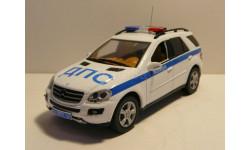 Mercedes-Benz ML500 Полиция ДПС, масштабная модель, scale43