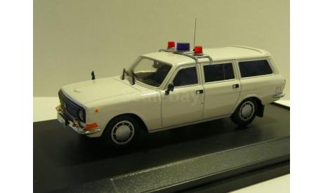 Волга ГАЗ 2412 Оперативная, масштабная модель, scale43